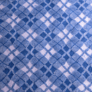 PetBed Non-slip Fleece - Blue Tartan