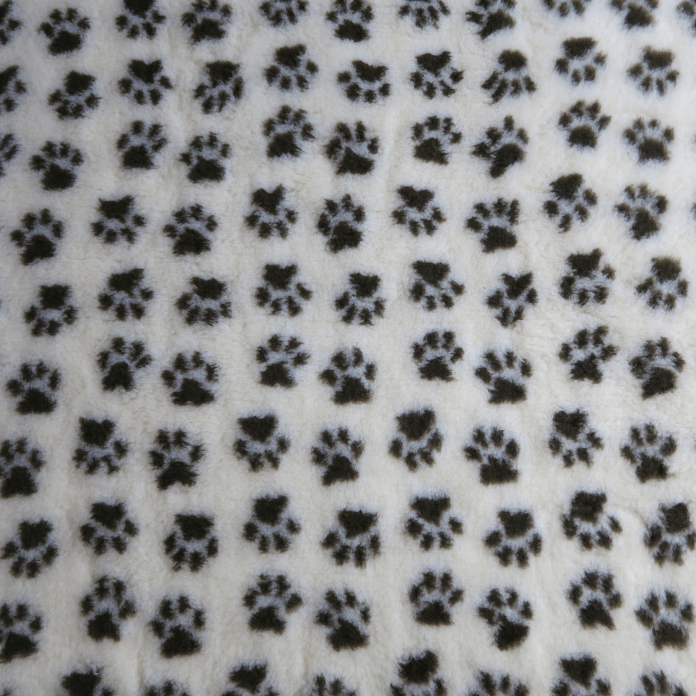 PetBed Non-slip Fleece - Cream Paw