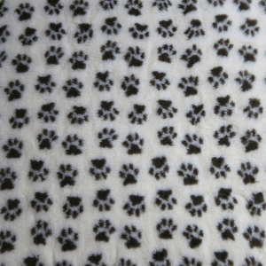 PetBed Non-slip Fleece - Cream Paw