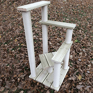 StepUp Outdoor Cat Scratch Post