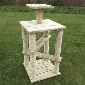 Deluxe Crossover Gym Outdoor Cat Tree