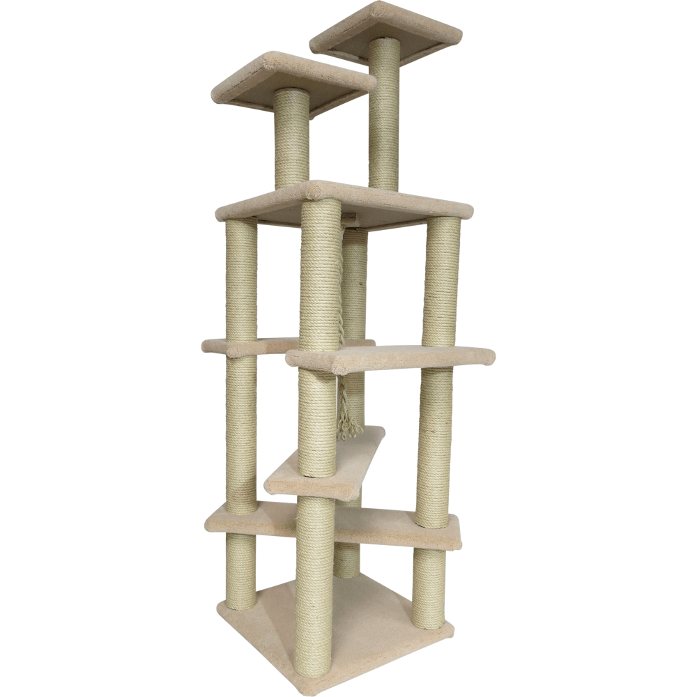 Deluxe Gym Cat Tree Scratching Posts And Platforms