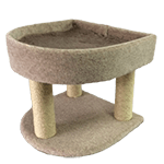 Cat Bunk Bed and Scratcher
