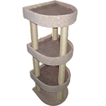 Triple Cat Bunk Bed Scratcher