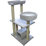 Exercise Frame Cat Scratcher with Barrel