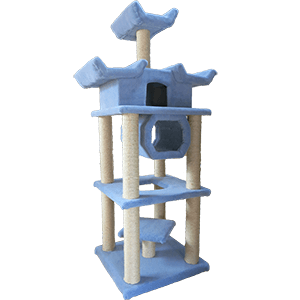 Super Deluxe Pagoda Cat Tree